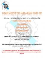 Campeonato Gallego | Sub 18